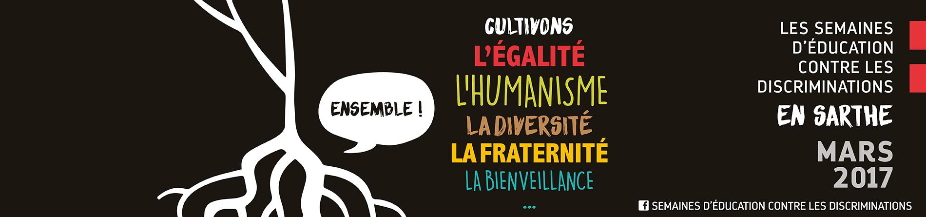 Semaines d'éducation contre les discriminations 2017