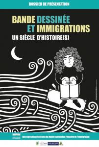 affiche bd et immigration