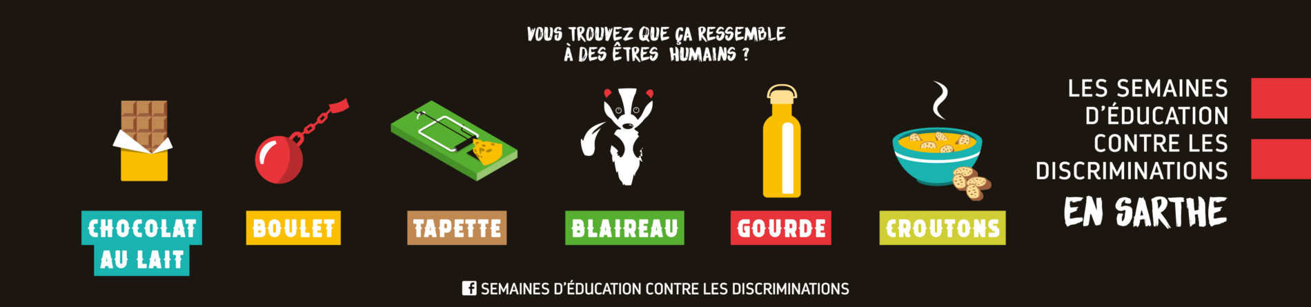 Semaines d'éducation contre les discriminations 2020