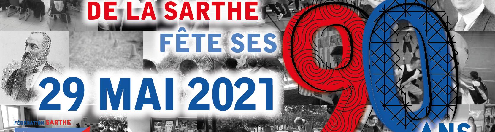 La ligue de l'enseignement de la Sarthe fête ses 90 ans !